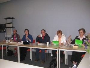 Participants during the session at the Tate Modern